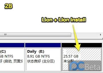 以XPS机型为例,图文详解Win7下不需借助MacDrive实现Lion系统盘制作及安装过程-27.jpg