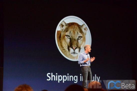 苹果发布了新一代桌面操作系统Mac OS X Mountain Lion