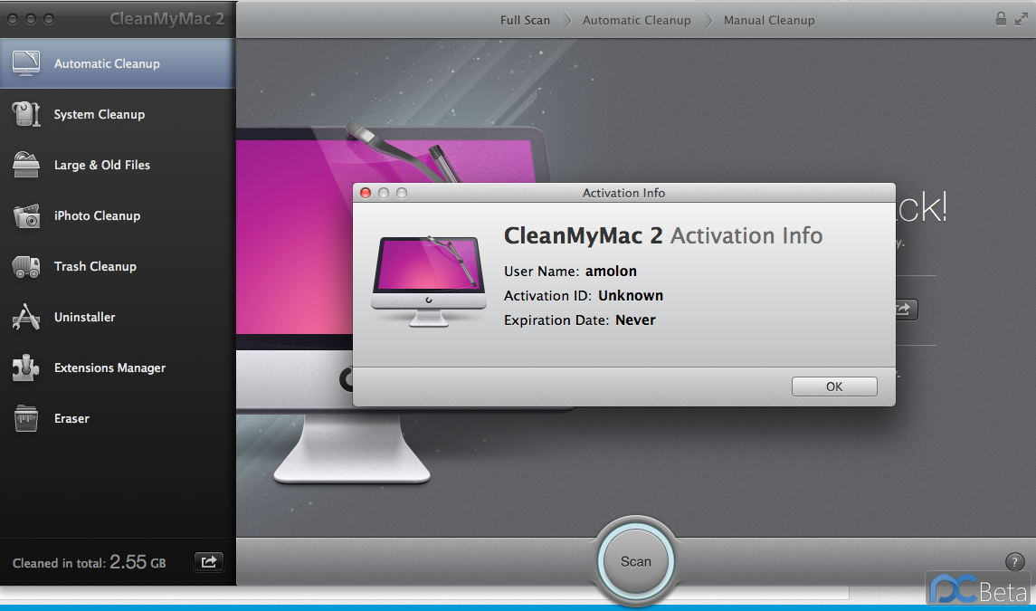 CleanMyMac2.0