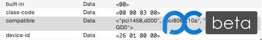 这个图就是在dsdt更改了id为0126的,但是compatible里面还是010a,请知道的指点下