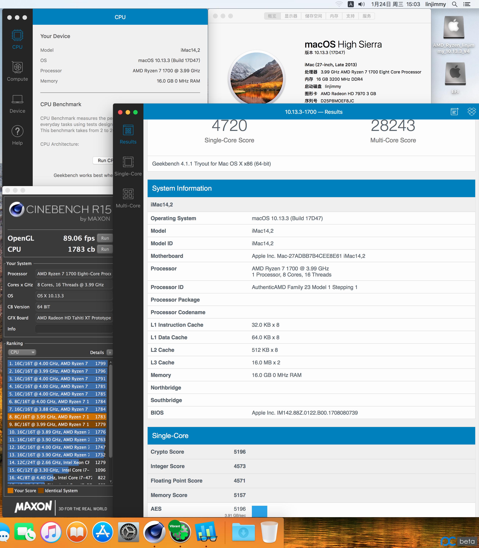 [吉米镜像]AMD Ryzen FX APU 10.13.3 linjimmy V4定制傻瓜安装镜像与安装教程-艾米莉亚