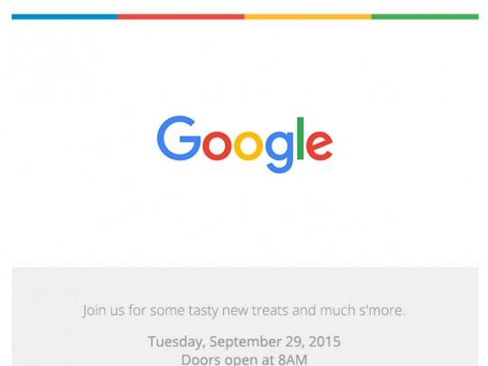 谷歌发9月29日邀请函,Android 6.0或将发布