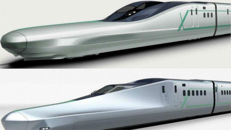 日本下一代新干线ALFA-X发布:最高时速360公里/时